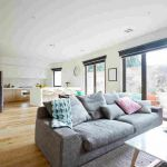 Open plan living style