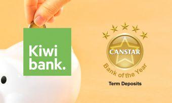 Kiwibank a term deposit winner