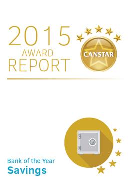 Canstar Savings Award 2015