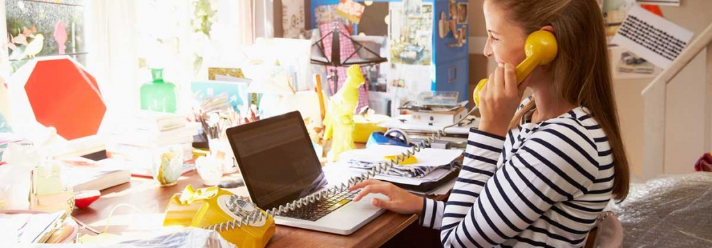 Working at home – tips to make it work