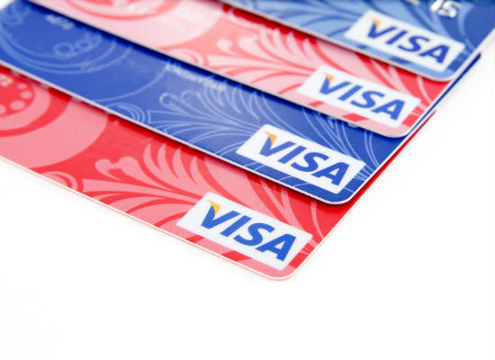 Who issues my Visa credit card?