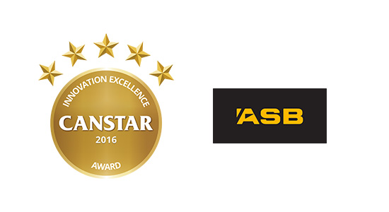 ASB Card Control has won a Canstar Innovation Award