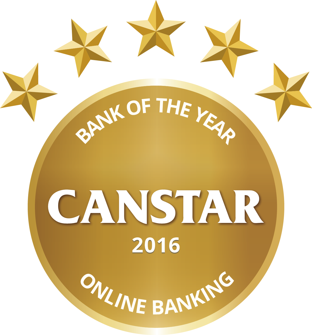 CANSTAR 2016 – Bank of the Year  – Online Banking