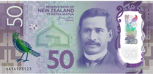 New Zealand $50 note