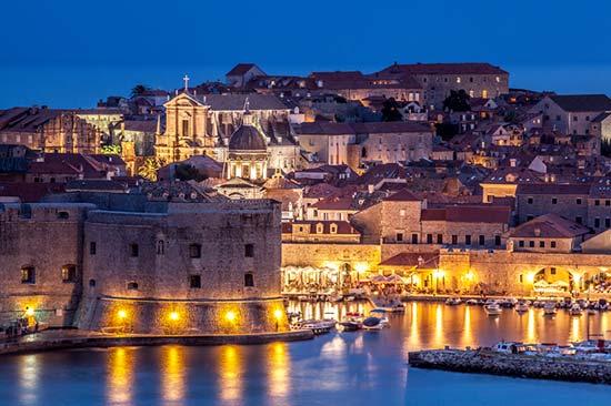 Dubrovnik, Adriatic Sea