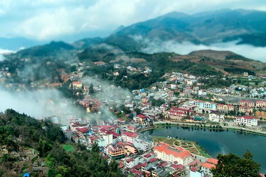 Sapa City, Vietnam