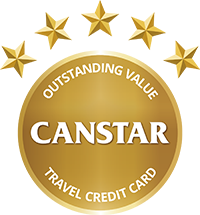 Canstar Outstanding Value Travel Credit Card