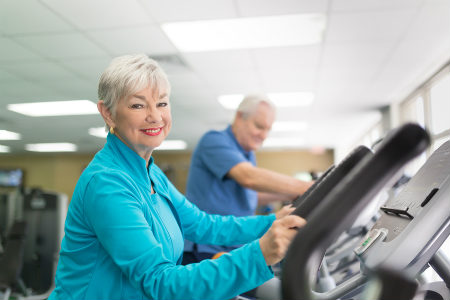 Staying healthy while aging