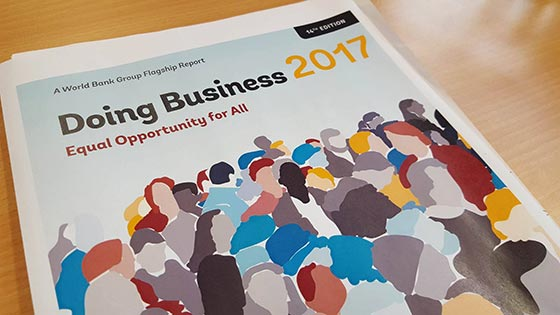 2017 Business Report reflects government focus on cutting business costs