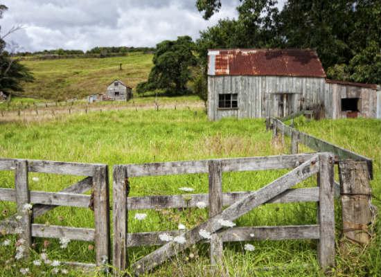 Inland farming