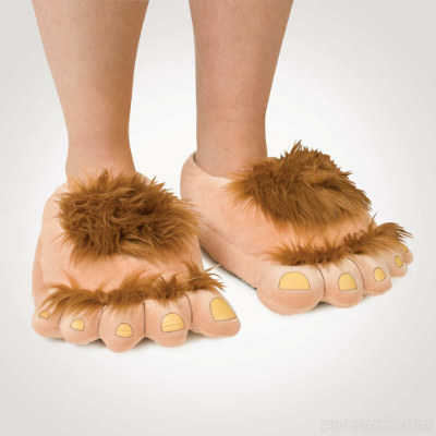 big foot slippers for dad