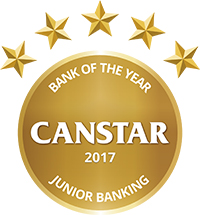junior banking award canstar