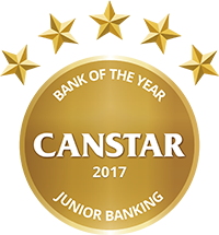 junior banking award canstar
